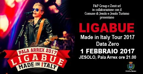 MADE IN ITALY TOUR – LIGABUE