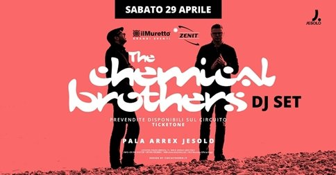 THE CHEMICAL BROTHERS DJ SET
